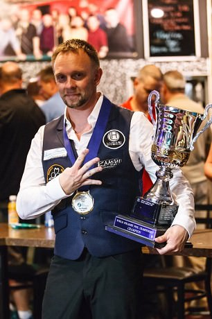 2015 The 75th World Tournament 14.1 - Thorsten Hohmann Wins for the 4th Time