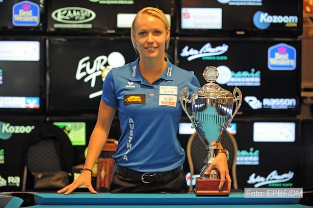 2015 Eurotour German Open - Another victory for Jasmin Ouschan
