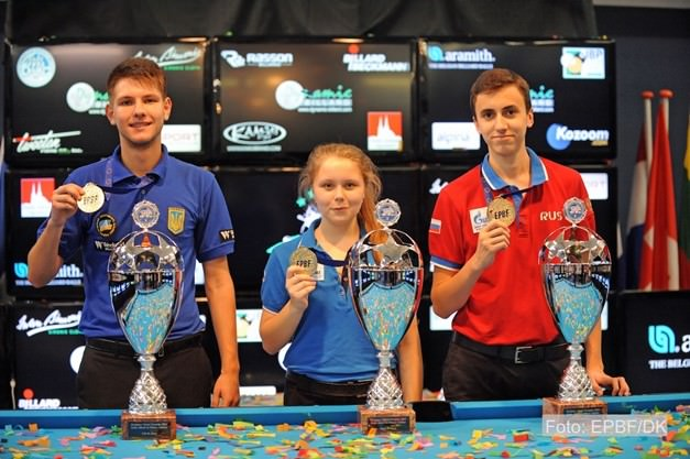 2015 EC Youth - Tkach, Gorst and Patsura snatch the 10-ball titles