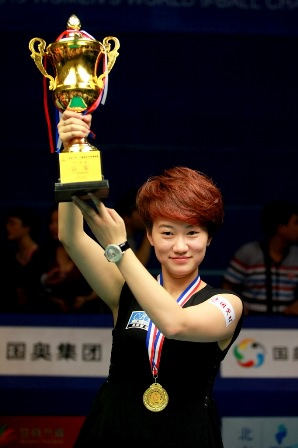2013 Womens 9-Ball WC - Champion Han Yu