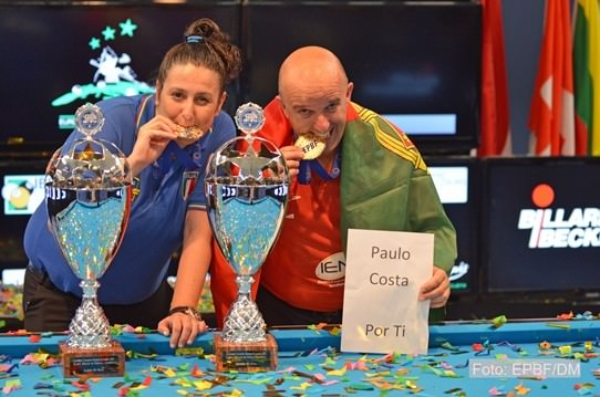 2015 EC Senior - Correia defended the 10-ball crown while Moscetti took her first title