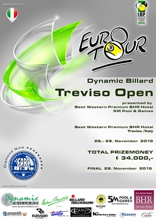 2015 Treviso Open Poster