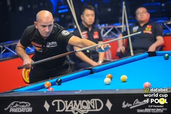 2015 World Cup of Pool - Day 1 Romania