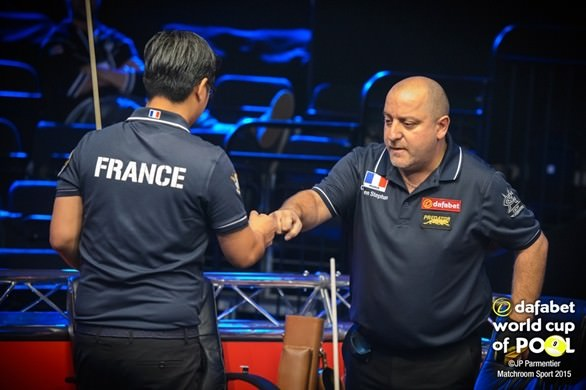 2015 World Cup of Pool - Day 1 France