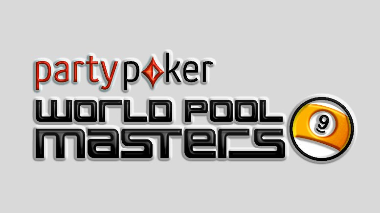 2015 PartyPoker.com World Pool Masters logo stacked - Grey