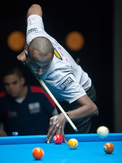 2015 WC 9-Ball - Day 1 Waleed Majid