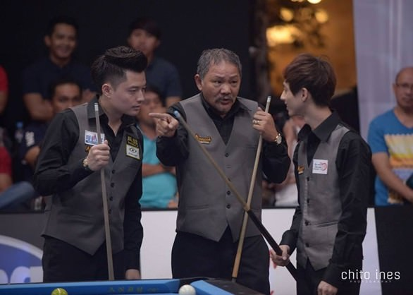 2015 Kings Cup - Efren Reyes and Ko brothers