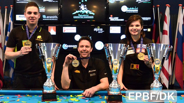 2016 Austria EC - 9-ball titles for Khodjaeva, Larsson and Sanchez-Ruiz