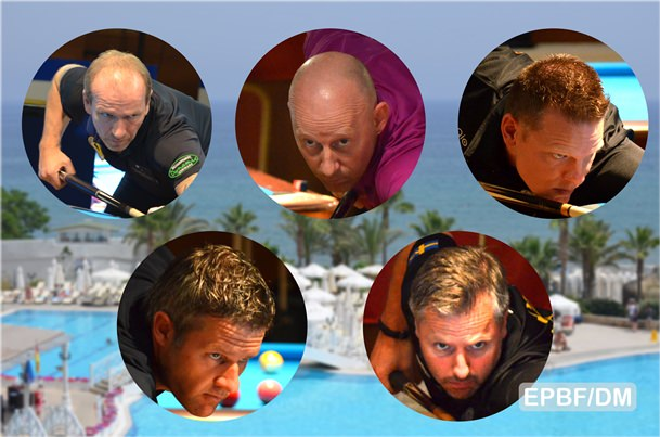 2016 Eurotour North Cyprus - Most usual suspects through to single elimination