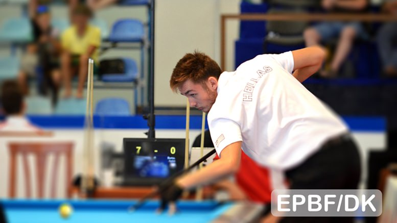 2016 EC Youth - Koukiadakis took the cake against Cwikla