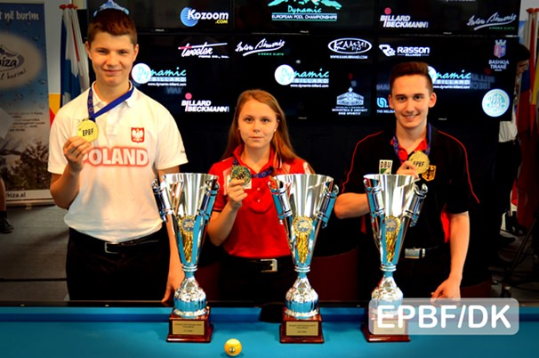2016 EC Youth - 9-ball individuals bring overall victory to Germany