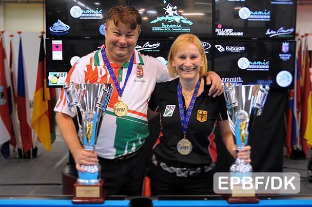 2016 EC Senior - Wessel and Tot reach out for 10-ball Gold
