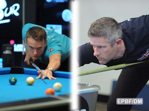 2016 Eurotour Netherlands Open - Tomasz Kaplan (left) and Mark Gray