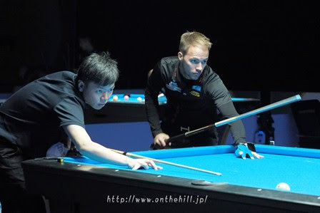 2016 Kuwait 9Ball Open - Albin Ouschan and Wu Jiajing