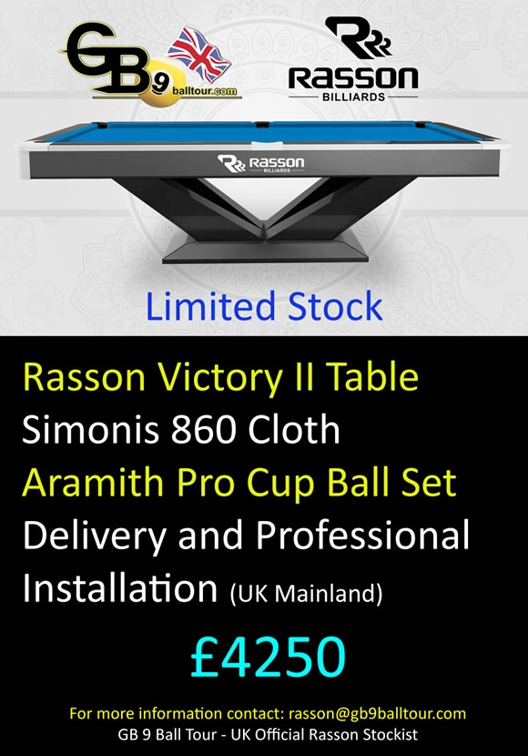 2016 GB9 - Rasson Table Flyer