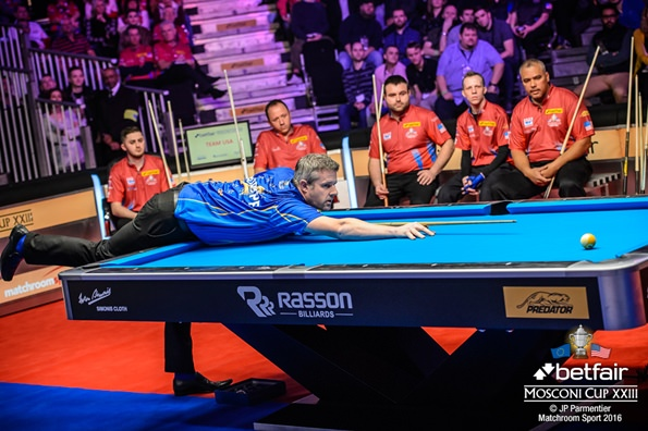 2016 Mosconi Cup Day 1 - 02