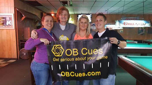 2016 OB Cues Ladies Tour - 6th stop Finale Top 4