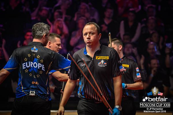 2016 Mosconi Cup Day 2 - 02 Shane Van Boening
