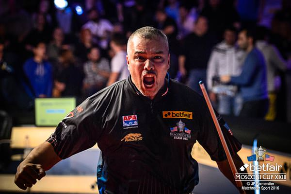 2016 Mosconi Cup Day 2 - 05 Rodney Morris