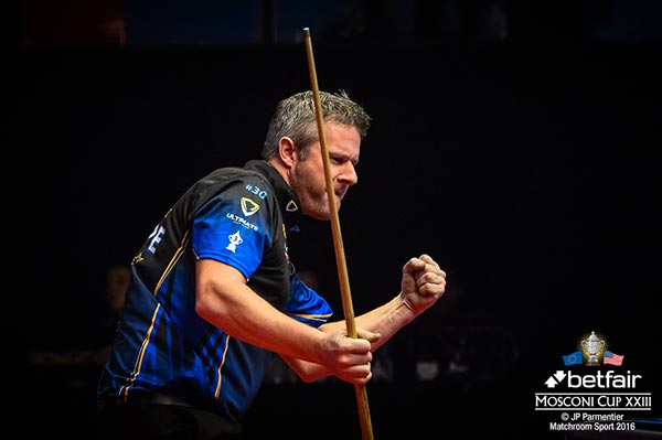 2016 Mosconi Cup Day 2 - 07 Mark Gray