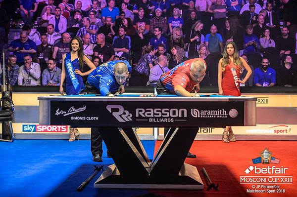 2016 Mosconi Cup Day 3 - 04 Jayson Shaw and Rodney Morris