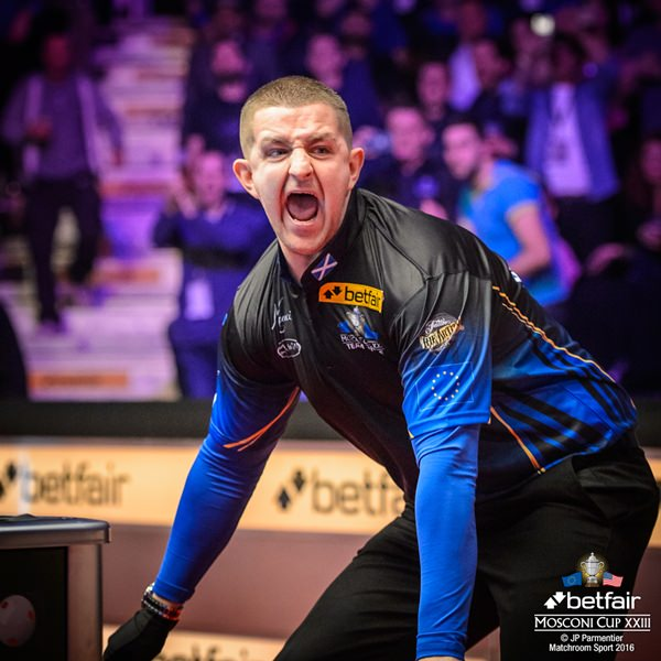 2016 Mosconi Cup Day 4 - 02 Jayson Shaw