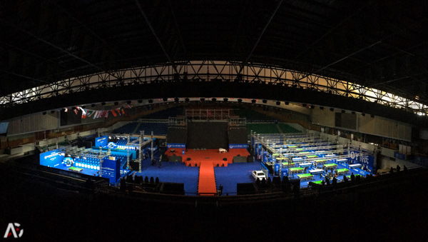 2017 JOY World Chinese 8-Ball Masters - venue