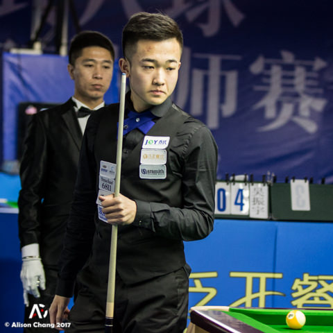 2017 World Chinese 8ball Masters Grand Finale - DAY 3 Zhao Ruliang