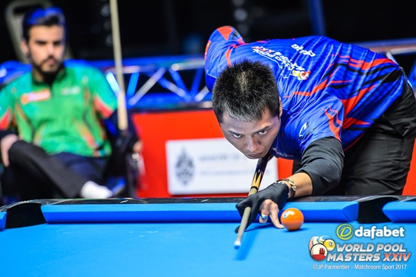 2017 World Pool Masters - Day 3 Chang Jung Lin (TPE)