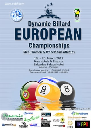 2017 Portugal European Championships Poster