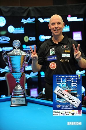 2017 Eurotour Italian Open - Ralf Souquet (GER) wins his 22nd Euro-Tour