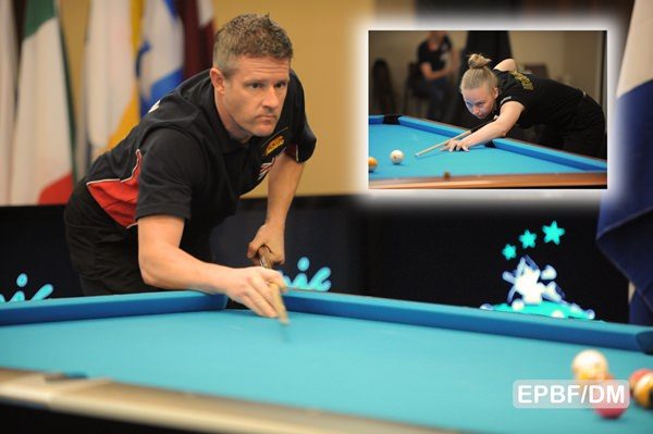 2017 Eurotour Portuguese Open - Mark Gray and Kateryna Polovinchuk