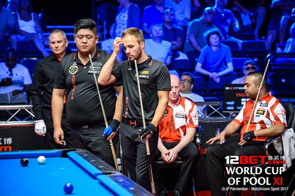 2017 World Cup of Pool Day 5_Session2 - Austria vs England