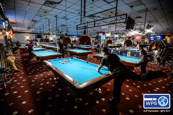 2017 World Pool Series S3 - Day 1 venue Steinway