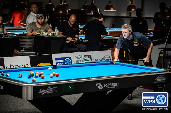 2017 World Pool Series S3 - Day 1 Mark Gray