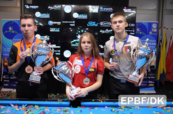 2017 Holland EC Youth - Final Medals have been awarded at the Youth EC