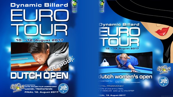 2017 Eurotour Dutch Open - Dutch Open sets sails tomorrow