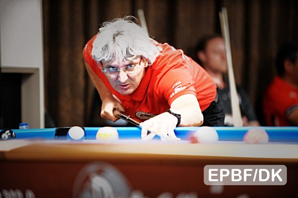 2017 EC Seniors and Ladies - Kremenovic through to last 16 in senior's 10-ball