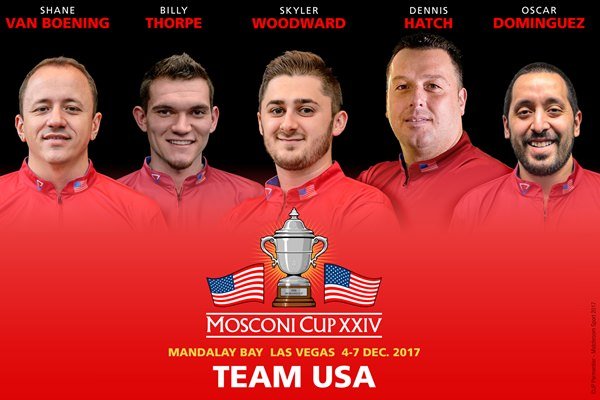 2017 Mosconi Cup - The five for the Mandalay announced 600x400
