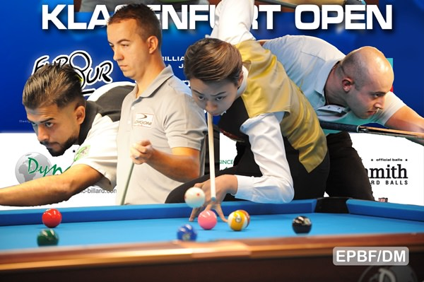 2017 Eurotour Klagenfurt Open - Huge surprises dominate day 1 in Klagenfurt