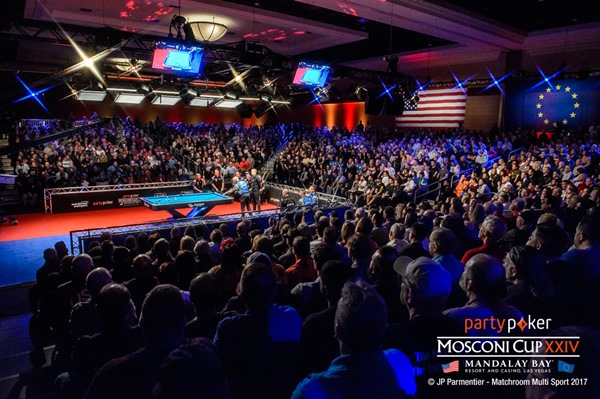 2017 Mosconi Cup Day 1 - 01