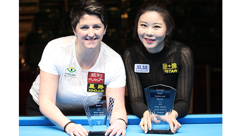2018 WPBA Grand Slam - Gayoung Kim and Kelly Fisher 777x437