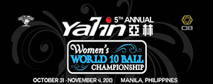 YouTube - 2013 Womenss World 10-Ball Championship Banner w303
