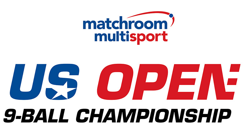 US Open 9-Ball Championship Logo with Matchroom 777x437