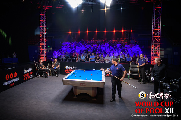2018 World Cup of Pool DAY 1 - Austria vs Chile