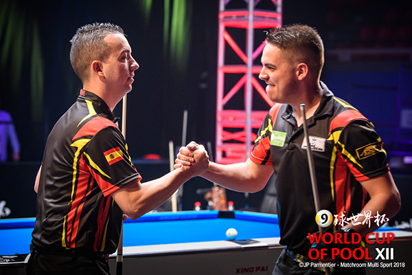 2018 World Cup of Pool DAY 1 - Team Spain