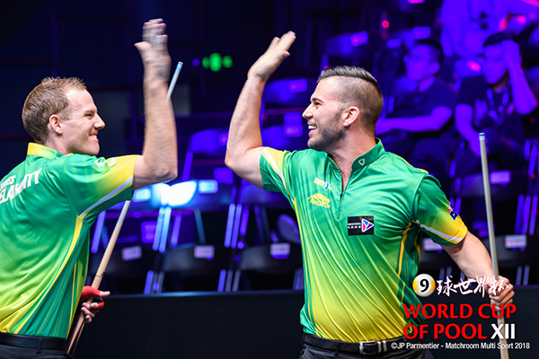 2018 World Cup of Pool DAY 3 - Team Australia
