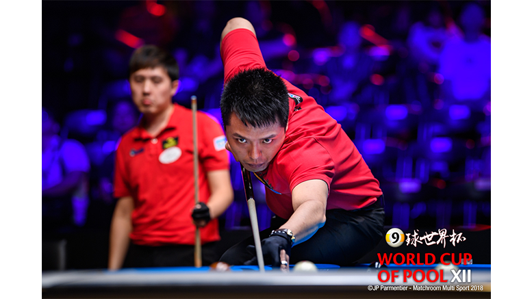 2018 World Cup of Pool DAY 4 - Team Chinese Taipei 777x437
