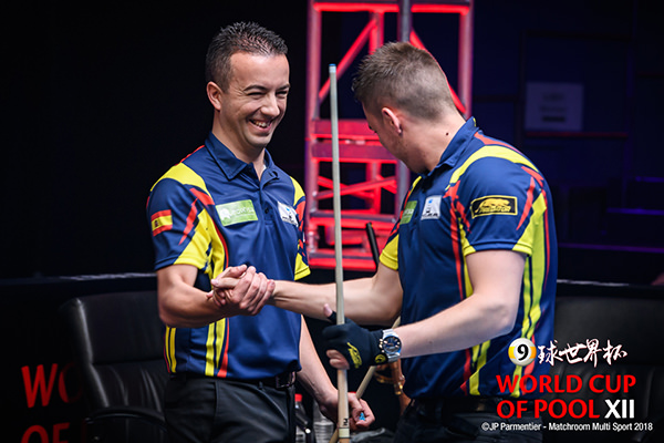 2018 World Cup of Pool DAY 4 - Team Spain