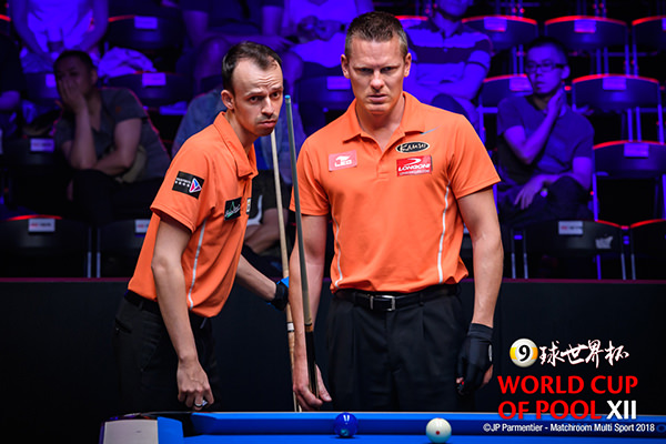 2018 World Cup of Pool DAY 5 QF - Team Holland